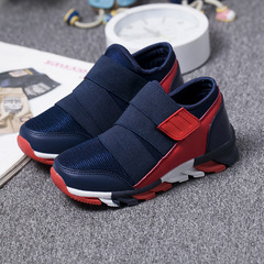 Sport Kids Sneakers For Boys Shoes Children Sneakers Girls Casual Shoes Breathable Mesh Runnin dark blue 31