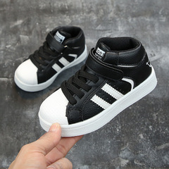 Children Casual Shoes Boys Girls Martin Boots Kids Running Shoes Kids Sport Shoes Child Sneakers black 21