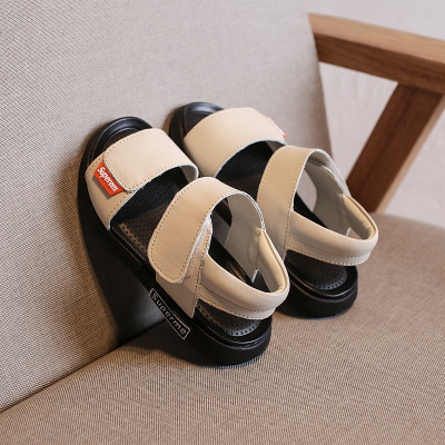 Boys Sandals Summer Sneakers Kids Shoes Infantil Boys Beach Sandals Casual Fashion Soft Flat Shoes white 26