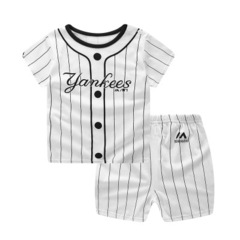 Boys Clothes Sets Summer Short Sleeve Tracksuit for Boys Sport Suits Animal Costume white 70cm/12m