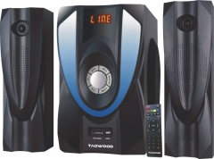 TAGWOOD Subwoofer With Bluetooth- Black 12000w MP-2306