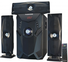 TAGWOOD Subwoofer With Bluetooth - Black 12000w MP-3348