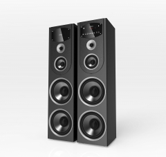 TAGWOOD MP-730B Twin Tower Home Theater Sound System Multimedia 2.1  Bluetooth Speaker Subwoofer black 38000 mp-730B