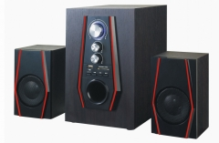 TAGWOOD MP-803 Home Theater Sound System Bluetooth Speaker Subwoofer & FM Radio black Pmpo:5500w MP-803