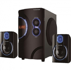 TAGWOOD Multimedia 2.1 Subwoofer With Bluetooth Black PMPO: 5500W MP-2176