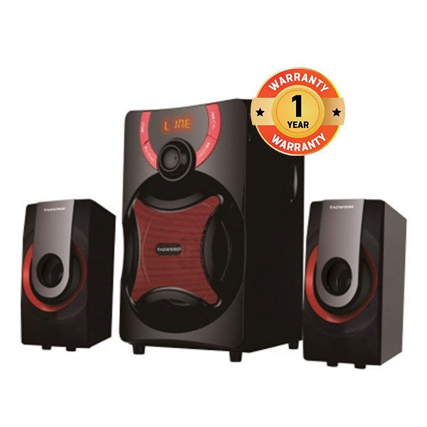 TAGWOOD MP-2175 Home Theater Sound System Multimedia 2.1  Bluetooth Speaker Subwoofer Black PMPO: 5500w MP-2175