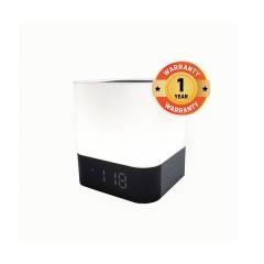 TAGWOOD MP-28 Cuboid LED Mini Wireless Bluetooth  Portable Speaker Subwoofer  Alarm Clock Stereo white 500W MP-28