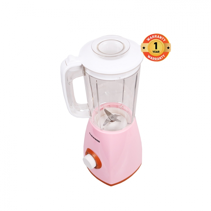 TAGWOOD MP-BL15C 1500ML Professional Blender White & Pink