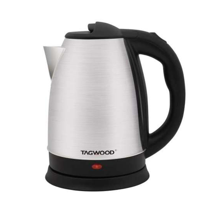 TAGWOOD TG2018 Electric Stainless Kettle Black