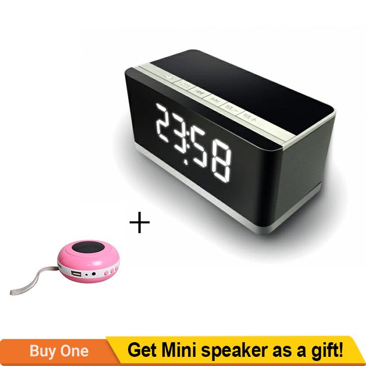 TAGWOOD MP-27 Cuboid Mini Wireless Bluetooth Portable Speaker Subwoofer Black 500W MP-27
