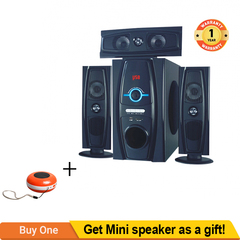 TAGWOOD MP-3319 Home Theater Sound System Bluetooth Speaker Subwoofer And FM Radio Black 12000w MP-3319
