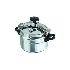 5 LITRES PRESSURE COOKER silver 5 litres