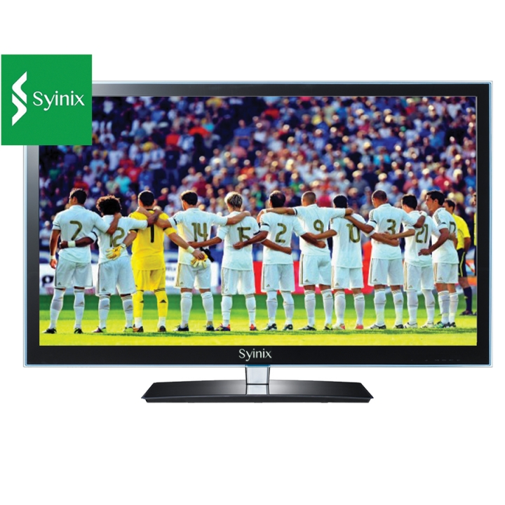 "SYINIX 24LED600HRS2 - 24"" - HD LED Digital TV - Black black 24 inch tv"