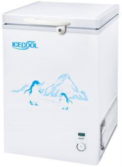 ICECOOL BD-109 Chest Freezer white 550*446*840