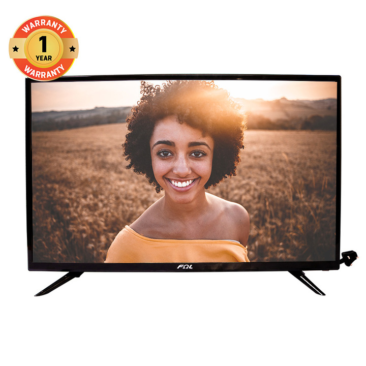 FΩL 32 Inch Support T2 Function Television Full HD 1080P LED Digital TV black 32 Inch