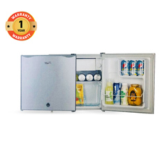 ICECOOL BC-50 Single Door Fridge (45 Litres Fridge + 5 Litres Freezer) grey 470*438*480