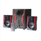 FL-2403 2.1 Channel Multimedia Home Theater Speaker System Support Remote Control black 25w 2403