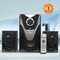 CLUBOX IC-5202 HI-FI BT Multimedia Speaker System black 60w IC-5202