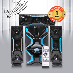 CLUBOX IC-1503L HI-FI BT Multimedia Speaker System black&blue 60w ic-1503l