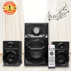 CLUBOX IC-5201 HI-FI BT Multimedia Speaker System black 60w IC-5201