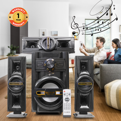 CLUBOX IC-503 HI-FI  BT Multimedia Speaker System black&gold 60w ic-503