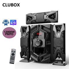 CLUBOX IC-1203L 3.1 X-Base HI-FI BT Multimedia Speaker System black 60w IC-1203L