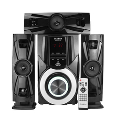 CLUBOX IC-1003 HI-FI BT Multimedia Bluetooth Speaker System 12000W PMPO. black 60w IC-1003