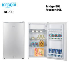 ICECOOL BC-90 Single Door Fridge Freezer grey 450*475*820