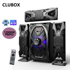 CLUBOX IC-1103L Woofer 3.1 X-Base HI-FI BT Multimedia Bluetooth Speaker System black 60w IC-1103L