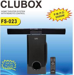 CLUBOX FS-023 Woofer 2.1 X-Base HI-FI BT Multimedia Bluetooth Speaker System black 40w FS-023