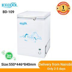 ICECOOL BD-109 Chest Freezer white 550*446*840