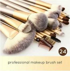 Professional 24pcs Makeup Brushes Set Maquiagem Tool cosmetics Make Up Tools Set as picture