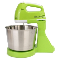 ABS+ Stainless 7 Speed Electric Eggs Stand Mixer Homemade Cakes Muffins Mixing Tools green one size