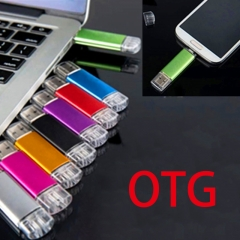 32GB 2 In 1 OTG USB Flash Disk For Android Smart Phone And Computer Random 32GB 80