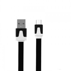 Android USB Data Cable For SUMSUNG HTC CUBOT INFINIX TECNO USB Charger Cable For Smartphone black