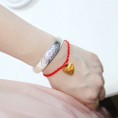 Rafiki Brand Red String Chinese Traditional Lucky Protection Jewelry Gift as picture one size