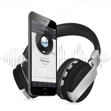 Portable Sports Bluetooth Headphone Multi Media Rechargeable Headset Support Smart phone/FM/TF unlimited
