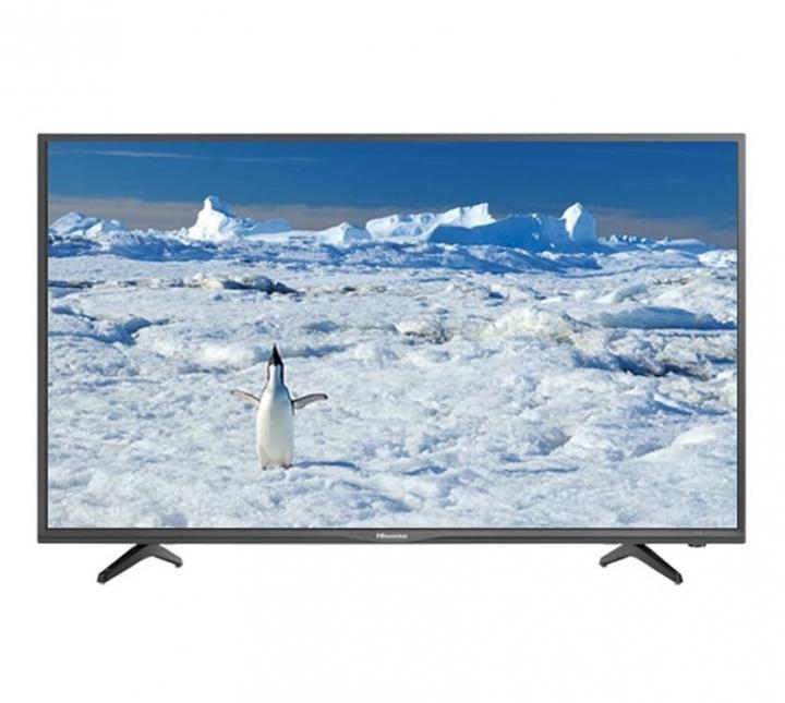 HISENSE-55N3000PW 55″ INCH-UHD 4K SMART DIGITAL LED TV black .