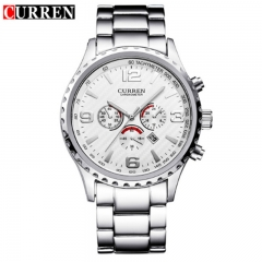 CURREN 2018 Luxury Masculino Casual Brand Orologio Display Date Men Sports Military Quartz Watch style 3 as picture