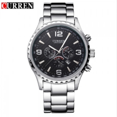CURREN 2018 Luxury Masculino Casual Brand Orologio Display Date Men Sports Military Quartz Watch style 2 as picture