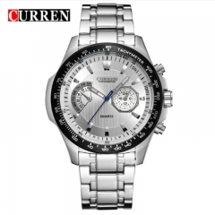 CURREN 2018 Quartz Vogue Business Men's Watches Waterproof Wristwatch style 1 as picture