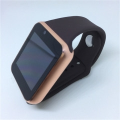 Bluetooth Smart Watch Sport Pedometer With SIM Camera Smartwatch For Android Smartphone WristWatch gold as picture