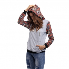GustOmerD New Fashion Women Hoodies High Quality Women Leisure Hood Long Sleeve Female Hoodies style 1 M