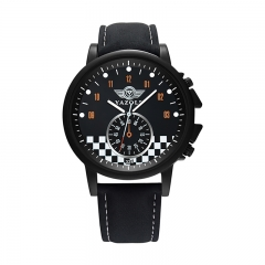 YAZOLE 324 Quartz Watch Men Unique MINI Car Dial Luminous Pointer Business Casual Style Wrist Watch black black as picture