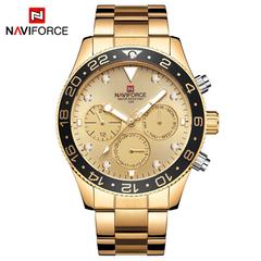 NAVIFORCE Men Watches Top Brand Luxury Military Waterproof Quartz Sport Men Clock Male Wristwatches 1 as picture