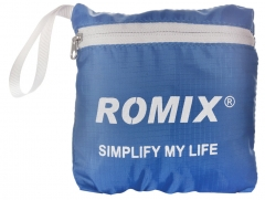 ROMIX  Folding  portable  backpack rugged compact and easy to add more fun for your life blue one size