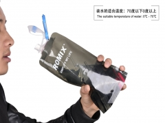FH Brand  Folder Sports Water Bottles 700ML  0-70° The Necessary of Outdoor/Sport black