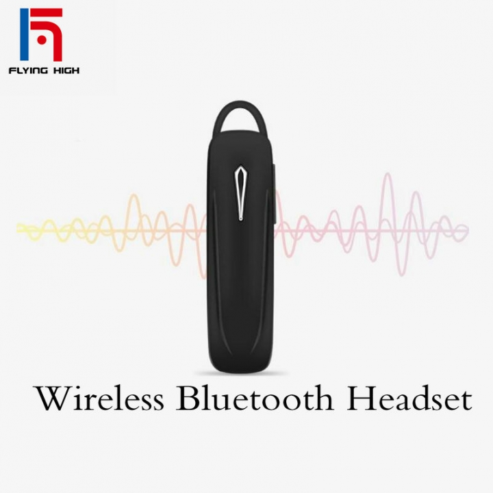 FH Brand Tide Brand Universal Wireless Bluetooth 4.1In EarEarphonesHeadphones black