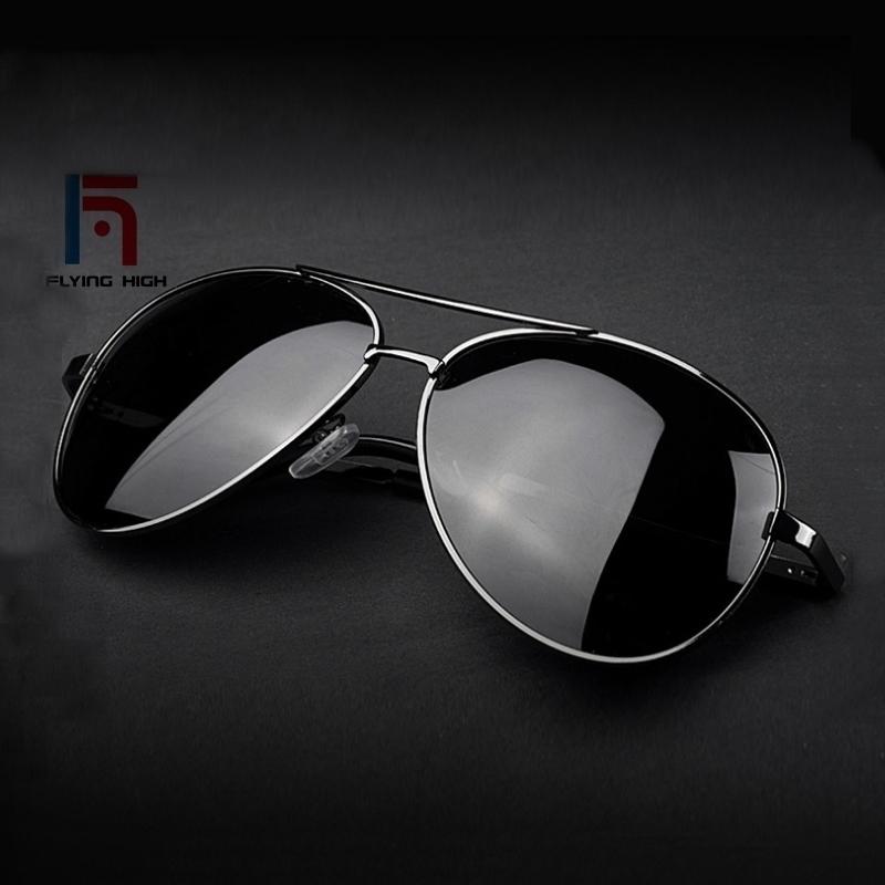 f28f53ce7db FH Fashion Polarizing Metal Sunglasses High-grade Resilience Leg Men ...