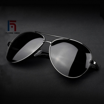 FH Brand high-grade resilience leg polarizing metal  sunglasses men and women universal glasses ONE COLOR ONE SIZE